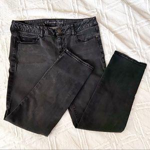 American Eagle Super Stretch Skinny Jeans Black